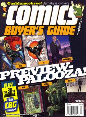 Comics Buyers Guide #1693 Sep 2012