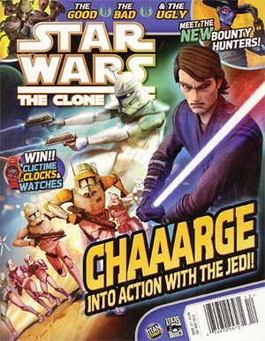 Star Wars Clone Wars Magazine #12 Jul / Aug 2012