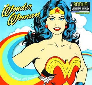 Wonder Woman 2013 12x11-Inch Wall Calendar