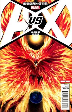 Avengers vs X-Men #0 Cover H Incentive Stephanie Hans Phoenix Variant Cover