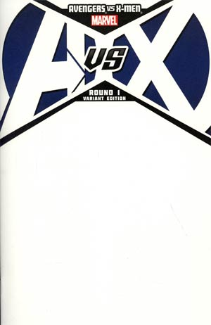 Avengers vs X-Men #1 Cover C Variant Blank Cover