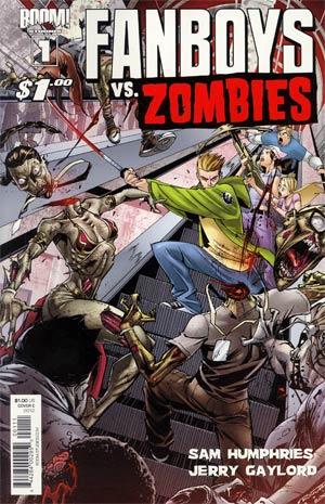Fanboys vs Zombies #1 1st Ptg Cover C Khary Randolph