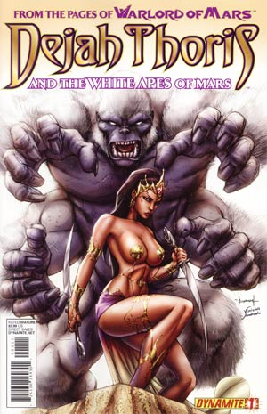 Dejah Thoris And The White Apes Of Mars #1 Regular Ale Garza Cover