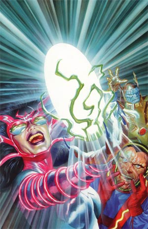 Kirby Genesis #6 Cover D Incentive Alex Ross Virgin Cover