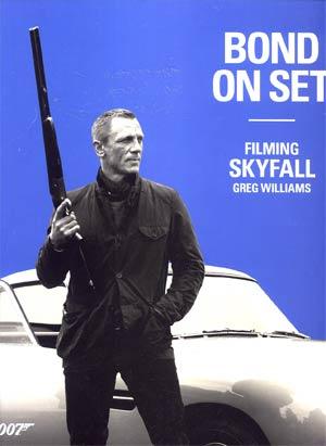 Bond On Set Filming Skyfall HC