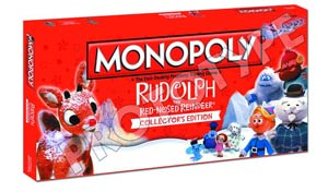 Monopoly Rudolph The Red-Nosed Reindeer Collectors Edition