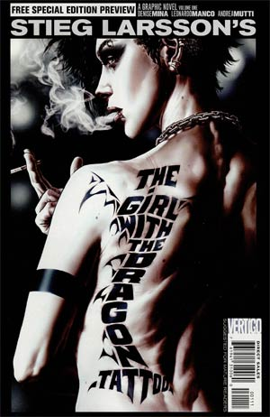Girl With The Dragon Tattoo Special #1