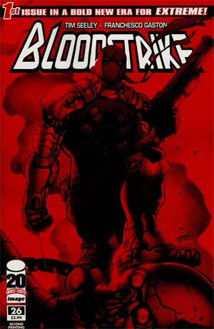 Bloodstrike #26 Cover C 2nd Ptg Variant Cover