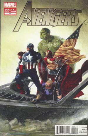 Avengers Vol 4 #25 Incentive Avengers Art Appreciation Variant Cover (Avengers vs X-Men Tie-In)