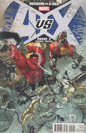 Avengers vs X-Men #2 Cover F Incentive Nick Bradshaw Variant Cover