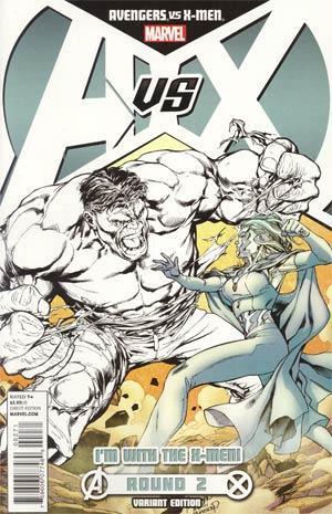 Avengers vs X-Men #2 Cover C Variant Team X-Men Cover