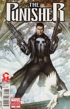 Punisher Vol 8 #10 Cover B Incentive Adi Granov Variant Cover (The Omega Effect Part 2)