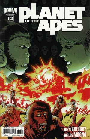 Planet Of The Apes Vol 3 #13 Regular Cover A