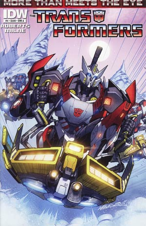 Transformers More Than Meets The Eye #4 Regular Cover A