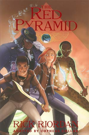 Kane Chronicles Vol 1 Red Pyramid TP
