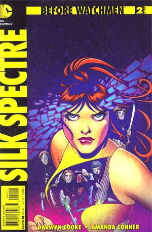 Before Watchmen Silk Spectre #2 Cover A Regular Amanda Conner Cover