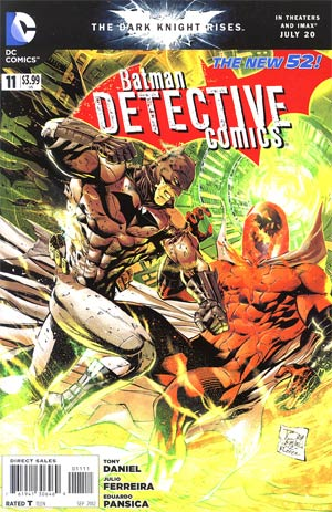 Detective Comics Vol 2 #11 Regular Tony S Daniel Cover