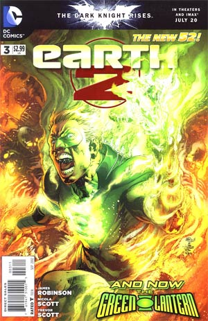 Earth 2 #3 Regular Ivan Reis Cover
