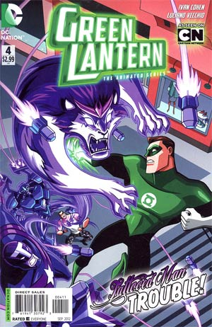 Green Lantern The Animated Series #4