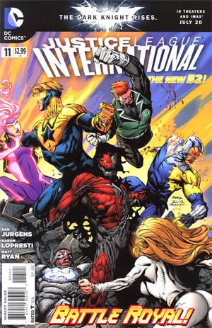 Justice League International Vol 2 #11