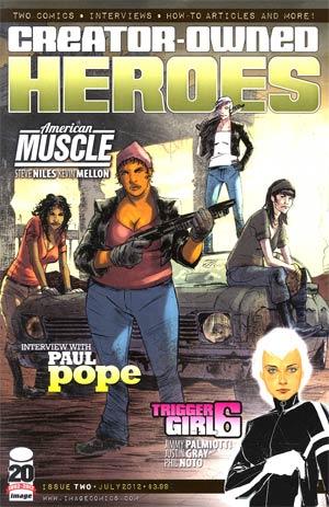 Creator-Owned Heroes #2 Cvr A
