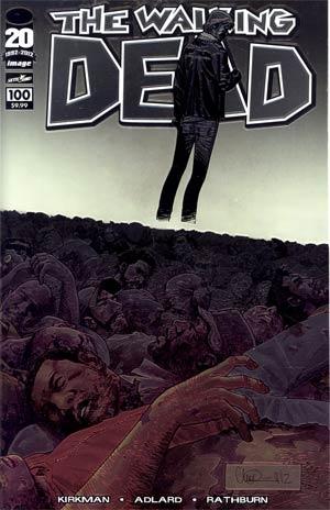 Walking Dead #100 Chromium Edition