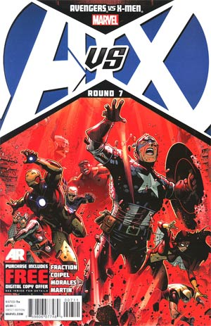 Avengers vs X-Men #7 Cover A Regular Jim Cheung Cover