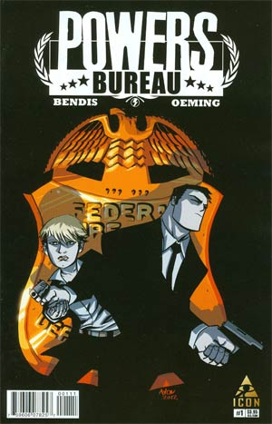 Powers Bureau #1 1st Ptg Regular Michael Avon Oeming Cover