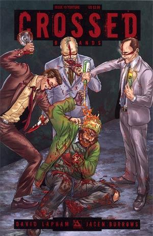 Crossed Badlands #10 Torture Cvr