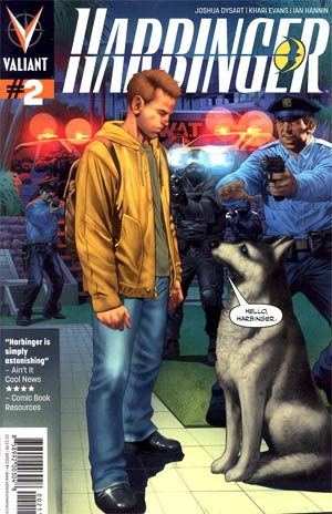 Harbinger Vol 2 #2 1st Ptg Regular Arturo Lozzi Cover