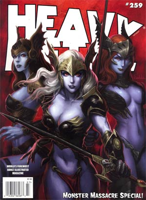 Heavy Metal #259 (Vol 36 #3 2012) Newsstand Edition