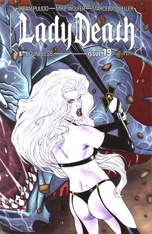 Lady Death Vol 3 #19 Wraparound Cover
