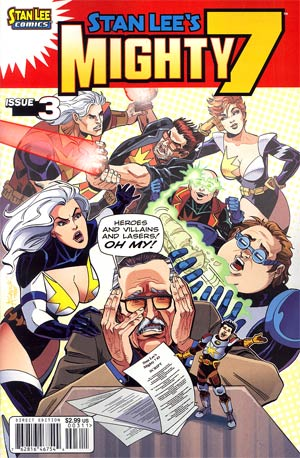 Stan Lees Mighty 7 #3 Cover A Regular Alex Saviuk Cover