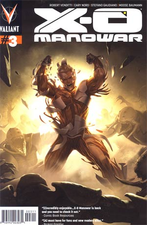 X-O Manowar Vol 3 #3 Cover A Regular Jelena Kevic-Djurdjevic Cover