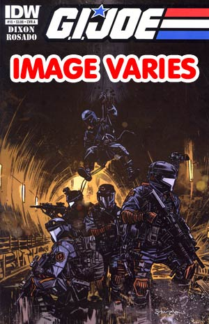 DO NOT USE (DUPLICATE LISTING) GI Joe Vol 5 #15 Regular Cover (Filled Randomly With 1 Of 2 Covers)