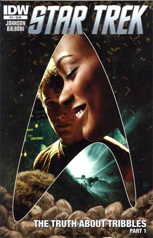 Star Trek (IDW) #11 Regular Tim Bradstreet Cover