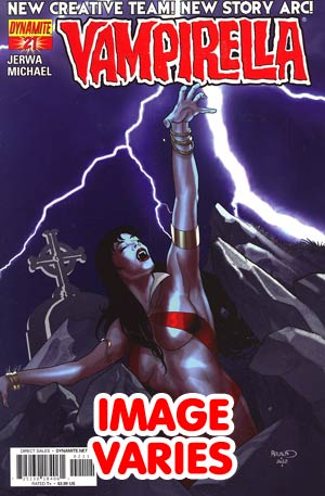 DO NOT USE Vampirella Vol 4 #21 Regular Cover (Filled Randomly With 1 Of 4 Covers)
