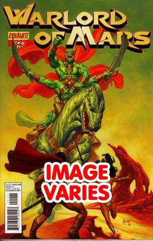 DO NOT USE (DUPLICATE LISTING) Warlord Of Mars #22 Regular Cover (Filled Randomly With 1 Of 2 Covers)