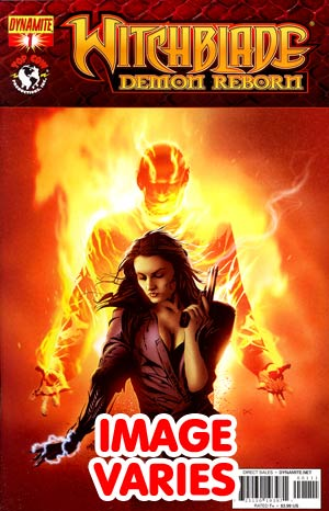DO NOT USE Witchblade Demon Reborn #1 Regular Cover (Filled Randomly With 1 Of 2 Covers)