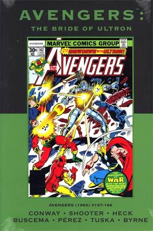Avengers Bride Of Ultron HC Premiere Edition Direct Market Cover
