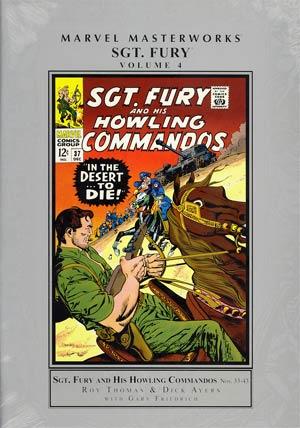 Marvel Masterworks Sgt Fury Vol 4 HC Regular Dust Jacket