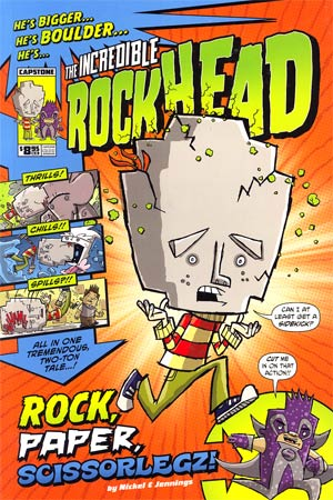 Incredible Rockhead Vol 1 Rock Paper Scissorlegz GN