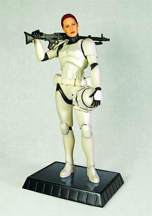 Star Wars Female Stormtrooper Statue