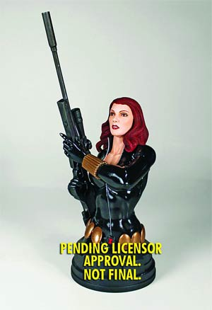Black Widow Mini Bust By Gentle Giant