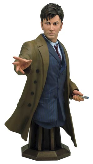 Doctor Who Tenth Doctor Mini Bust
