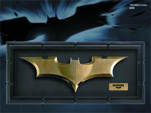 Batman Begins Batarang Prop Replica