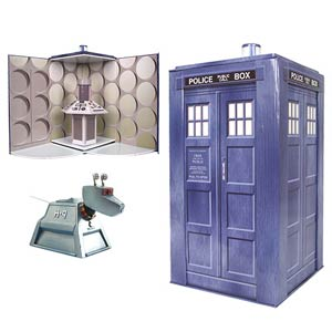 Doctor Who K-9 Action Figure With TARDIS Play Set