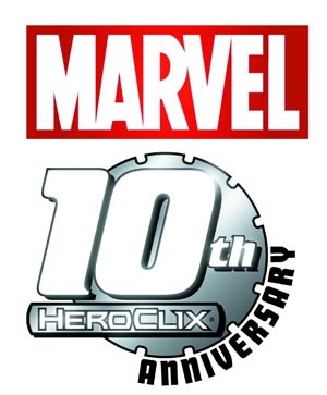 Marvel HeroClix 10th Anniversary 24-Count Booster Display