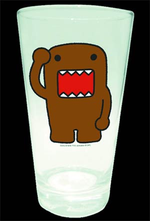 Domo Pint Glass - Arm Up
