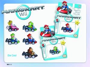 Mario Kart Wii Die-Cast 12-Piece Assortment Case